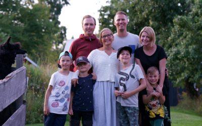 Två familjer från Göteborg