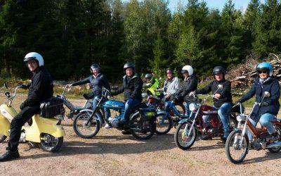 Moped utflykt